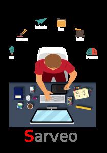 Sarveo spécialiste web des petites entreprises